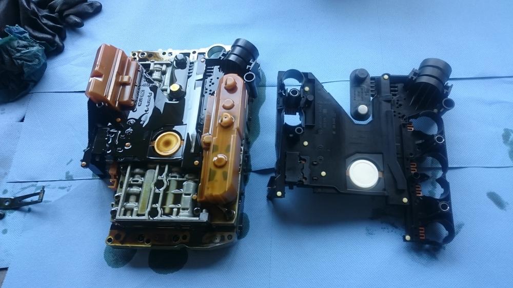 Oude en nieuwe sensorplaat