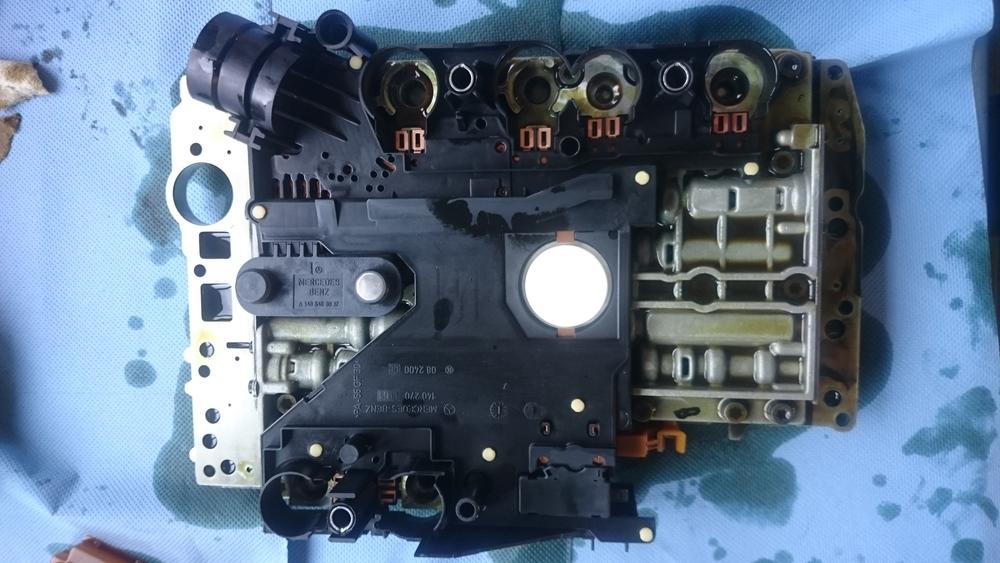 Nieuwe sensorplaat gemonteerd