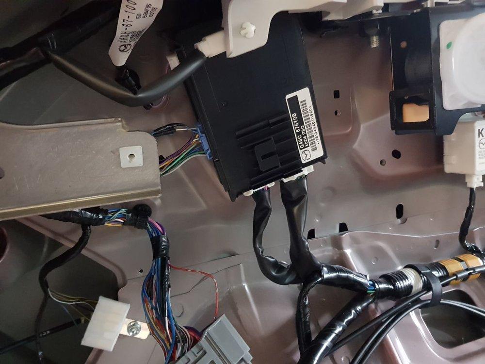 De Body Control Module van de Mazda CX-5