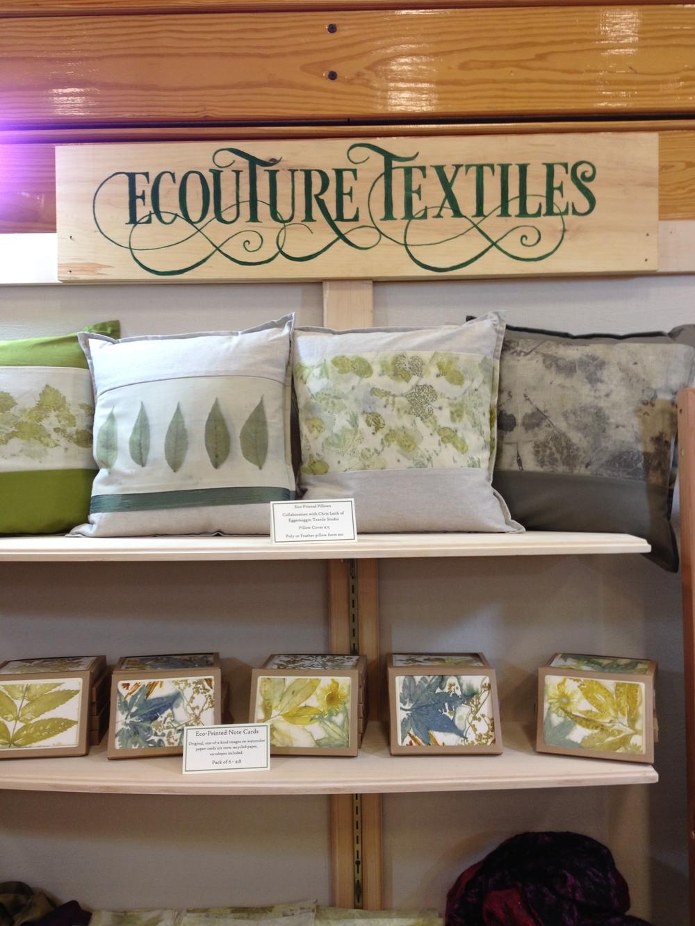 Ecouture Textile Studio Show Booth