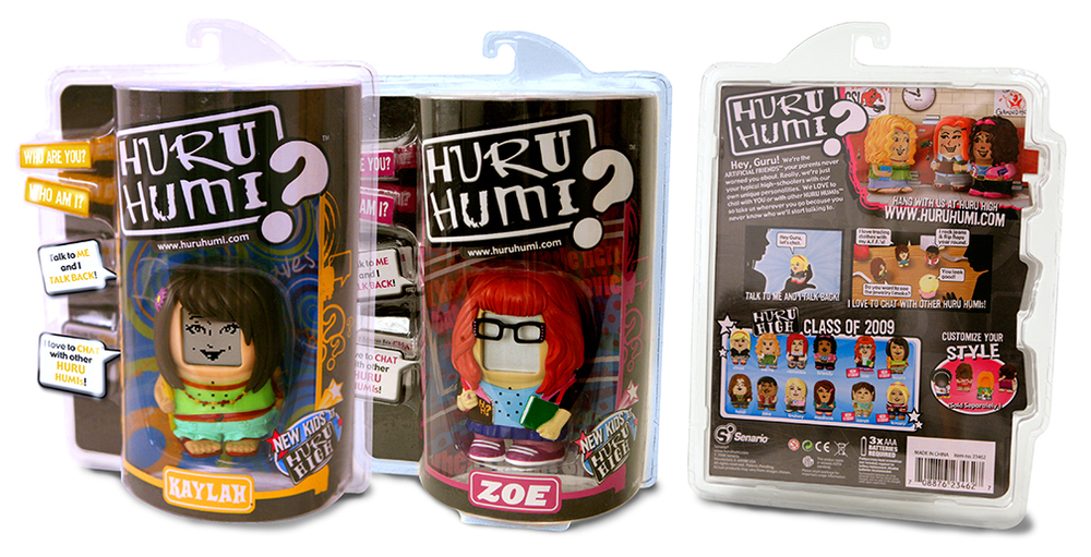 Huru Humi figure packaging