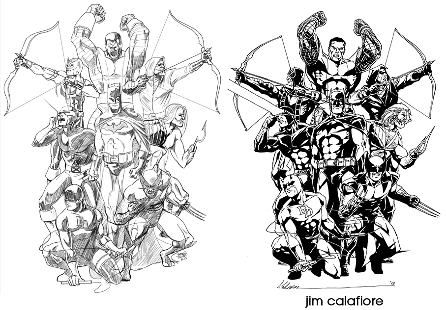 Daily sketch tattoo update jason muhr freelance for Marvel sleeve tattoo black and white