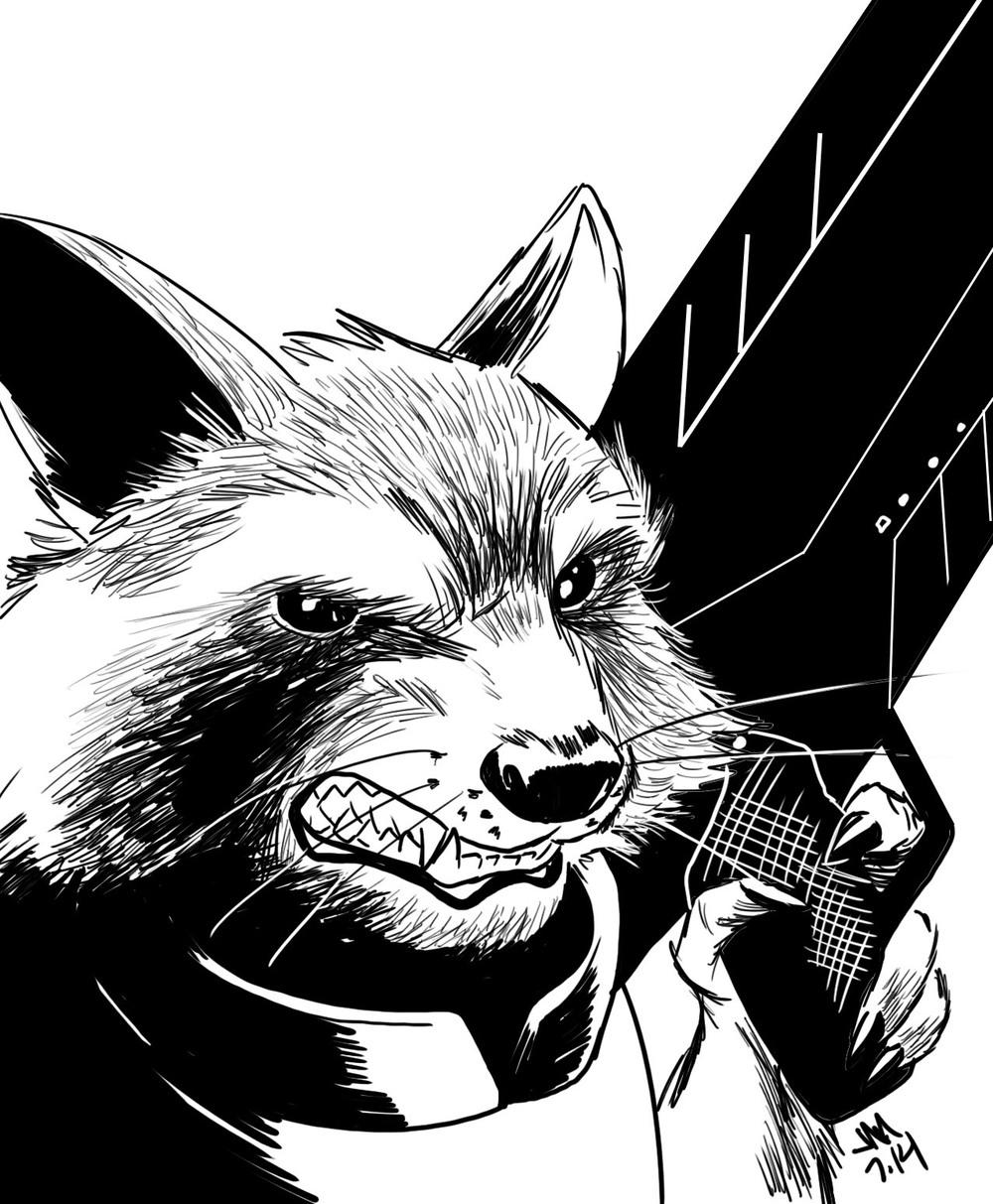 rocket raccoon jason muhr