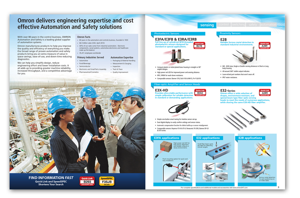 Product Focus Brochure