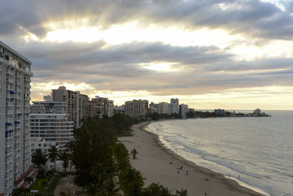 Sunset in Isla Verde (sample image)