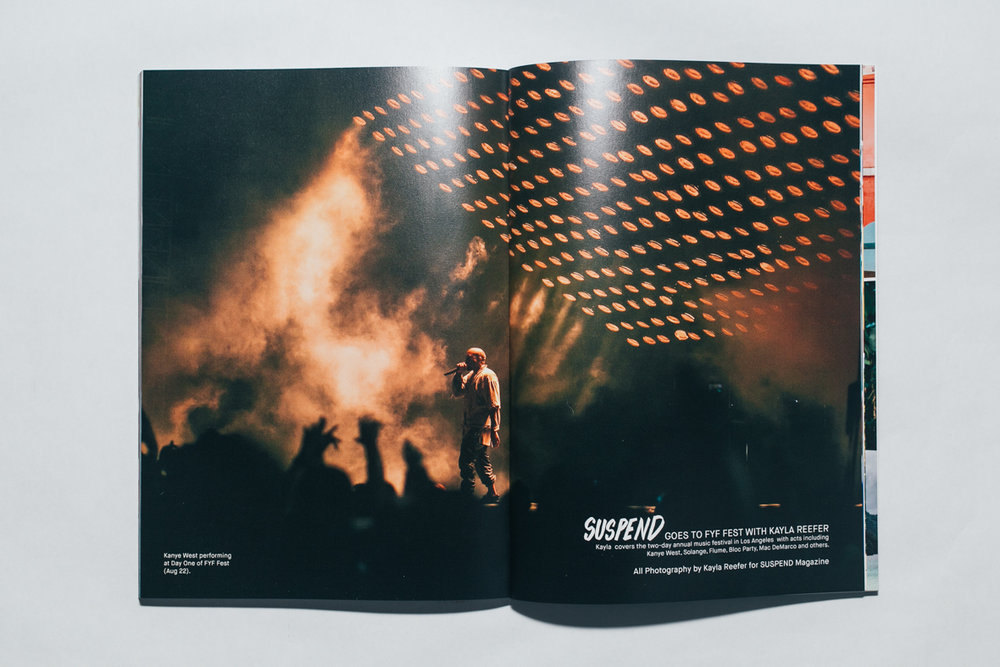 FYF FEST for SUSPEND MAG (Print)