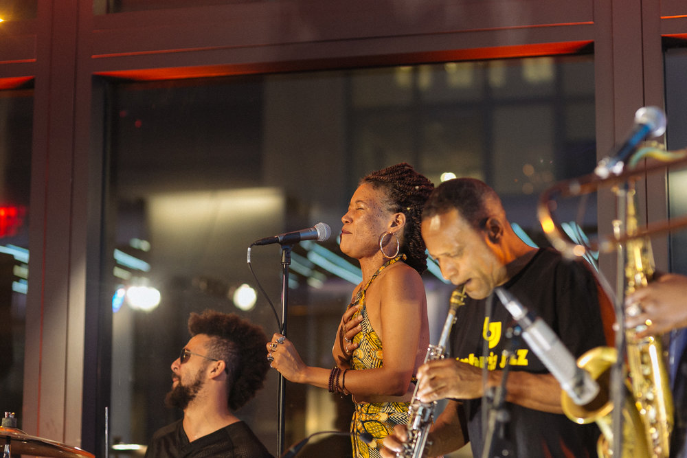 Kamasi Washington & West Coast Get Down live performance.