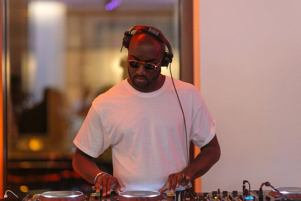 Virgil Abloh DJ set.