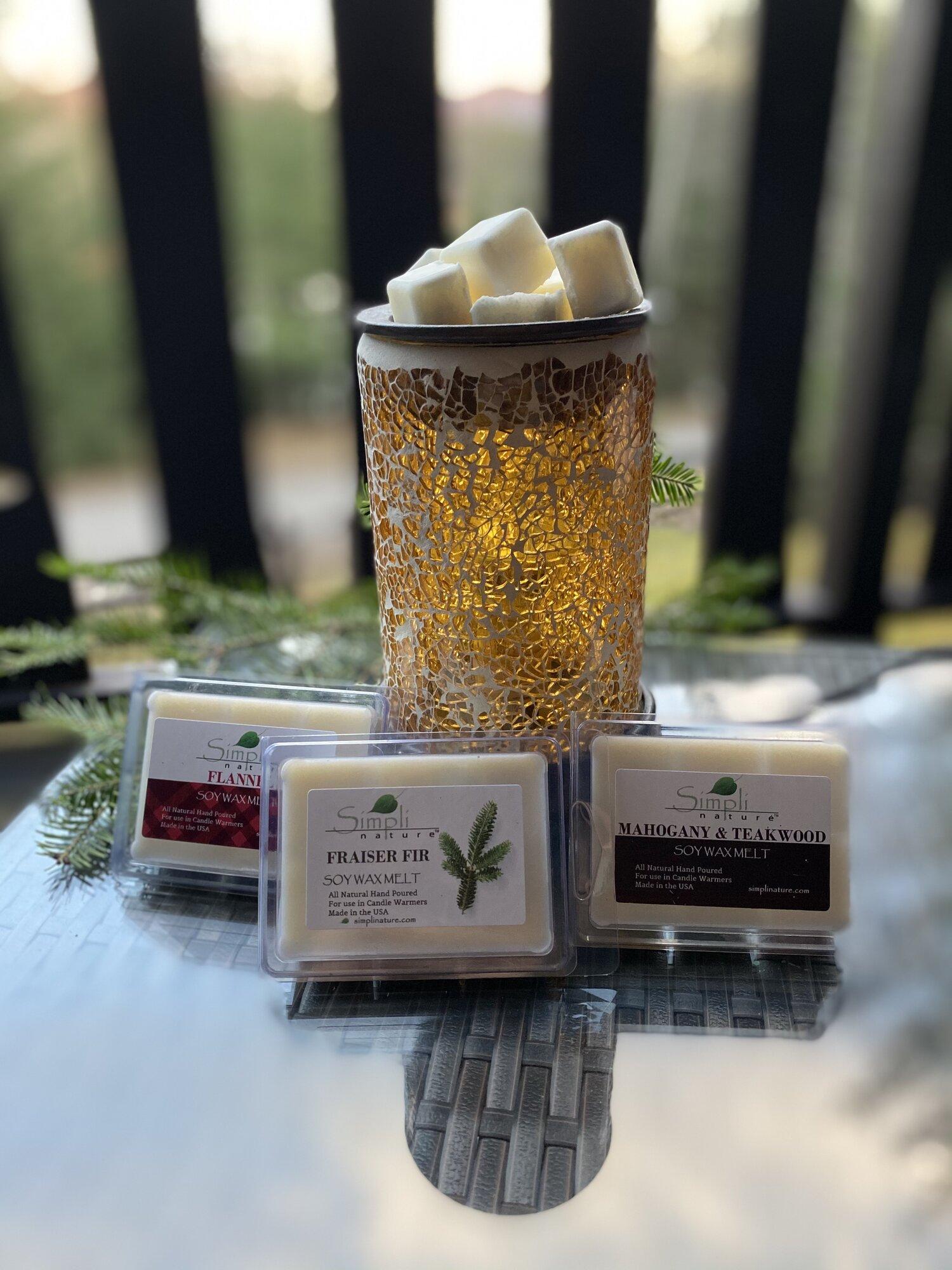 Scented Melting Tarts 4 Pack Soy Tart Melts Custom Scent Natural Candle Tarts