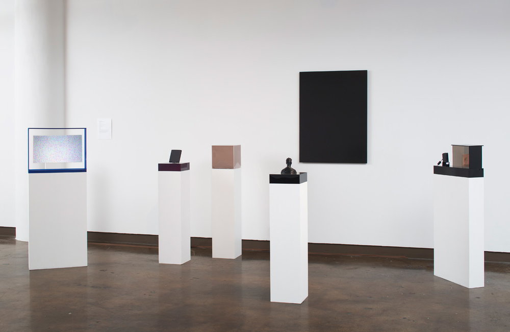 Cenotaph for my Shadow  , 2014 Installation view, select works