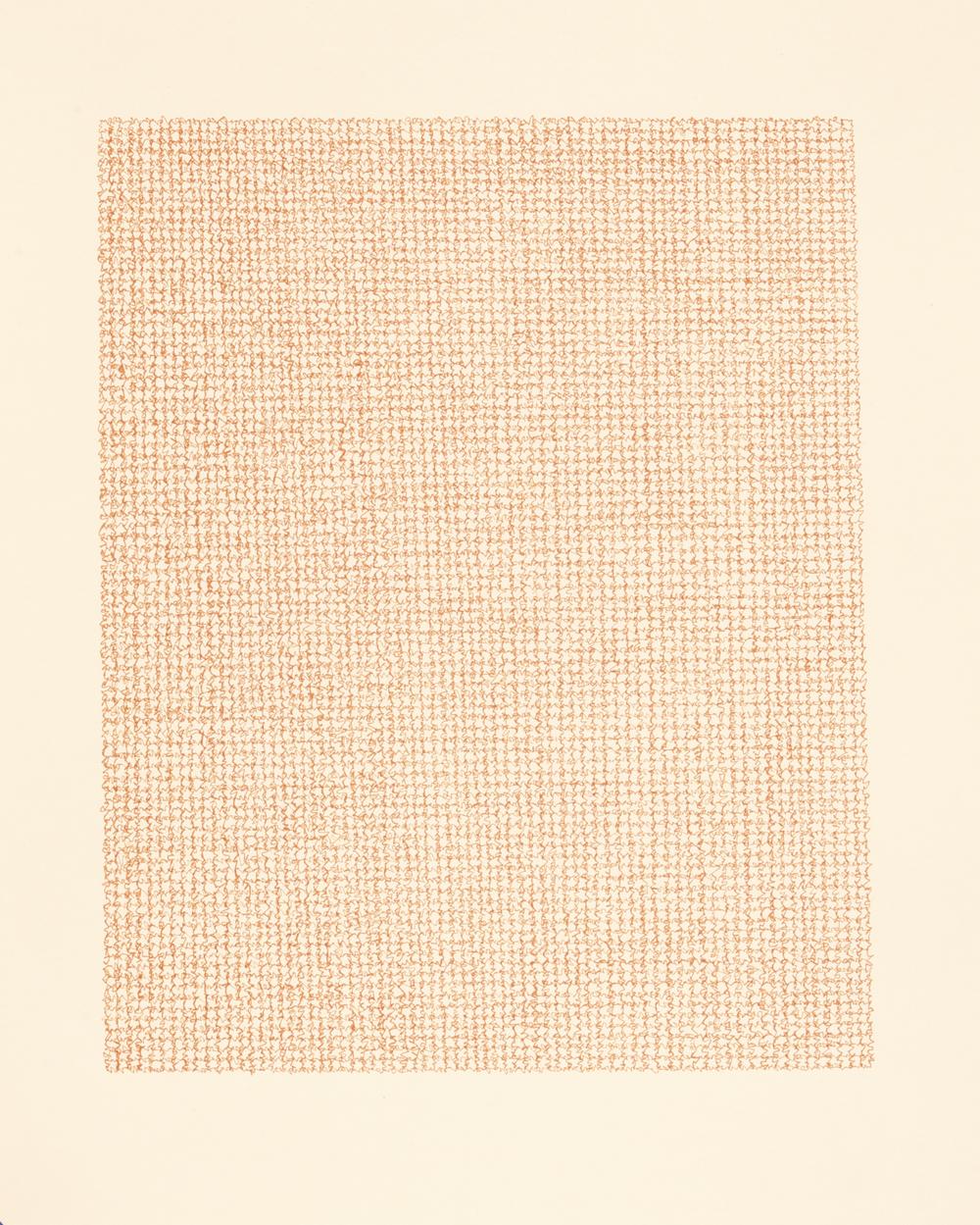 Untitled , 2013 / Ink on paper / 66cm 56cm