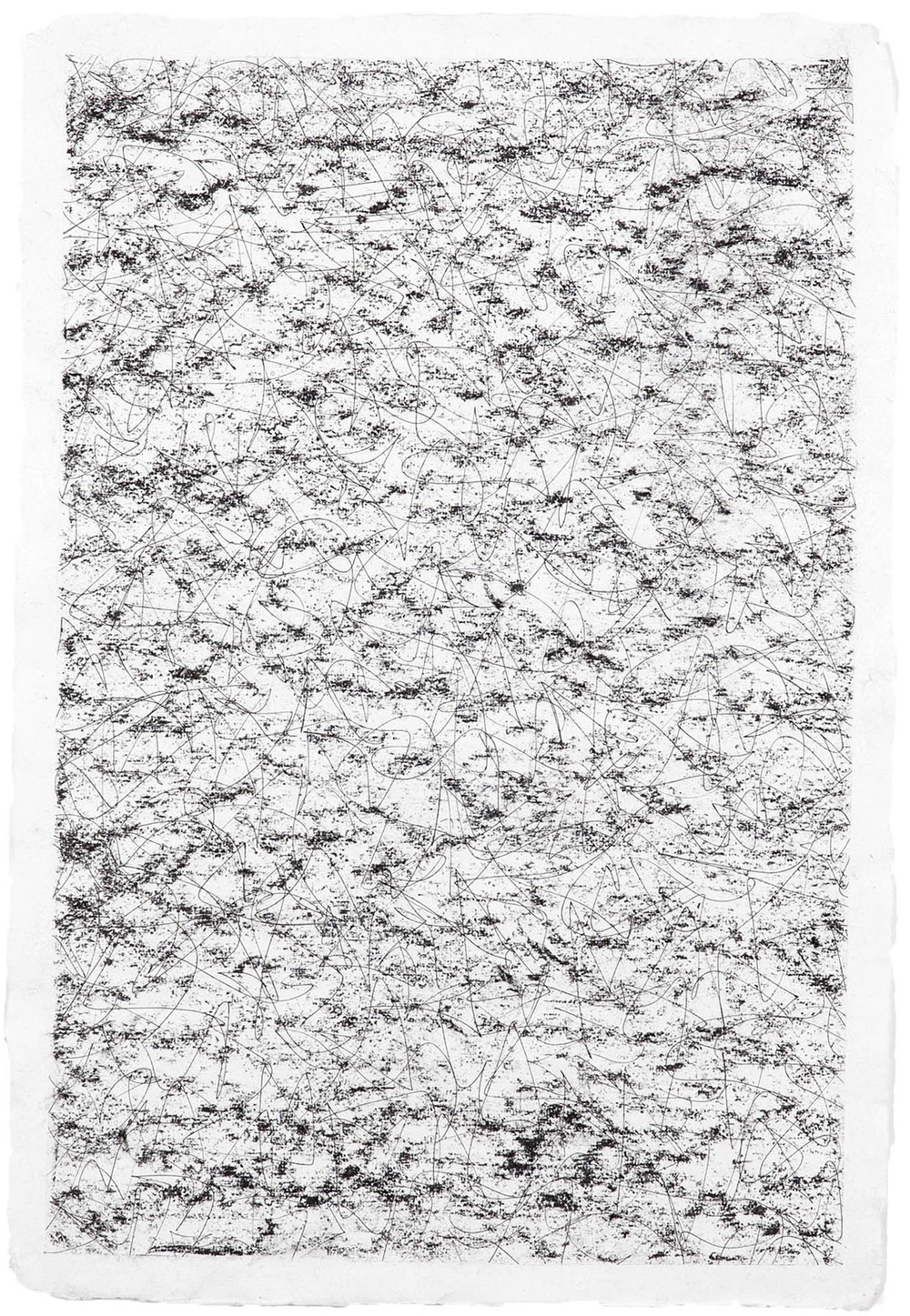 Morning beer blues,  2014. Charcoal and pen on paper, 56cm x 38cm