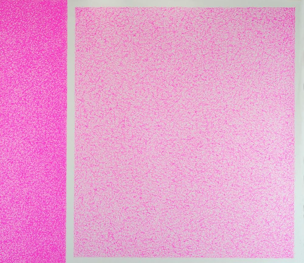 Las flores del bien, 2013 / In collaboration with  Martina Quesada  / Mix media on paper / 70cm x 90cm