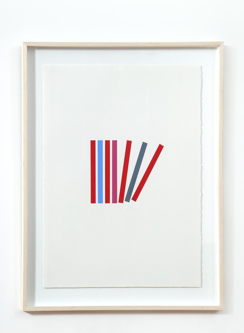 Oil pastel on paper / 96cm x 66cm