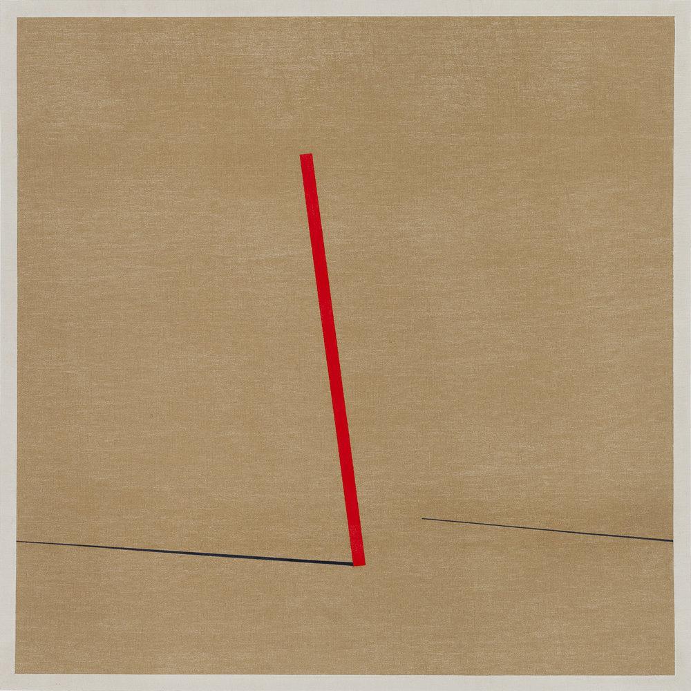 Los obstáculos invisibles 1,  2016 / Acrylic, oil, oil pastel and crayon on canvas / 60cm x 60cm