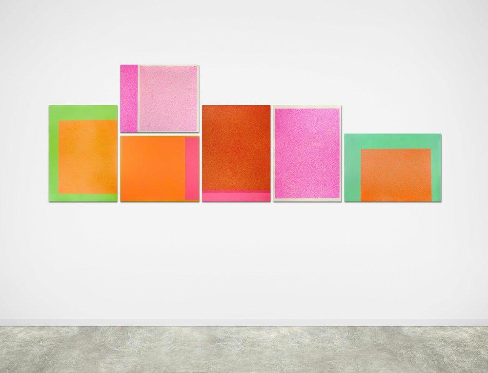 Las flores del bien, 2013 / In collaboration with  Martina Quesada  / Mix media on paper / 145cm x 400cm