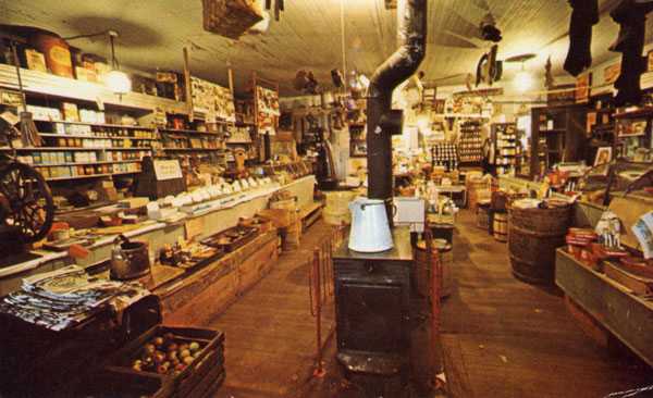 Interior of Country Store
