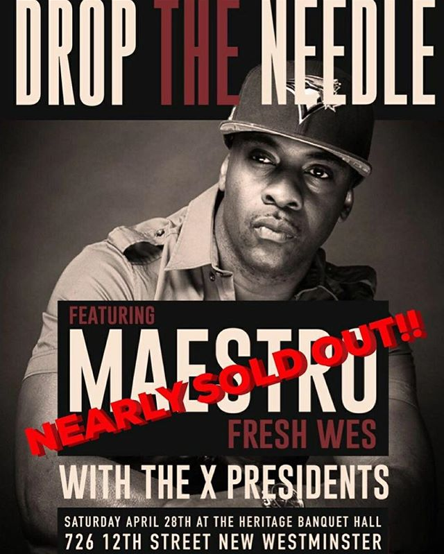 Catch @mattdiamind tomorrow night, with @maestrofreshwes in New West!