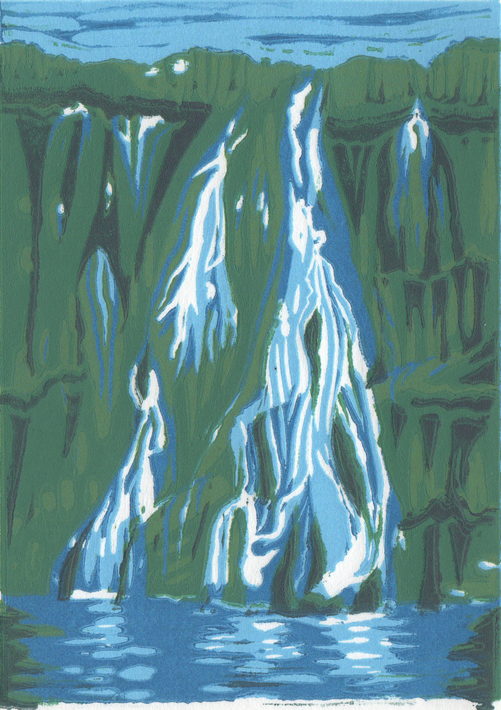 Waterfall, 2011