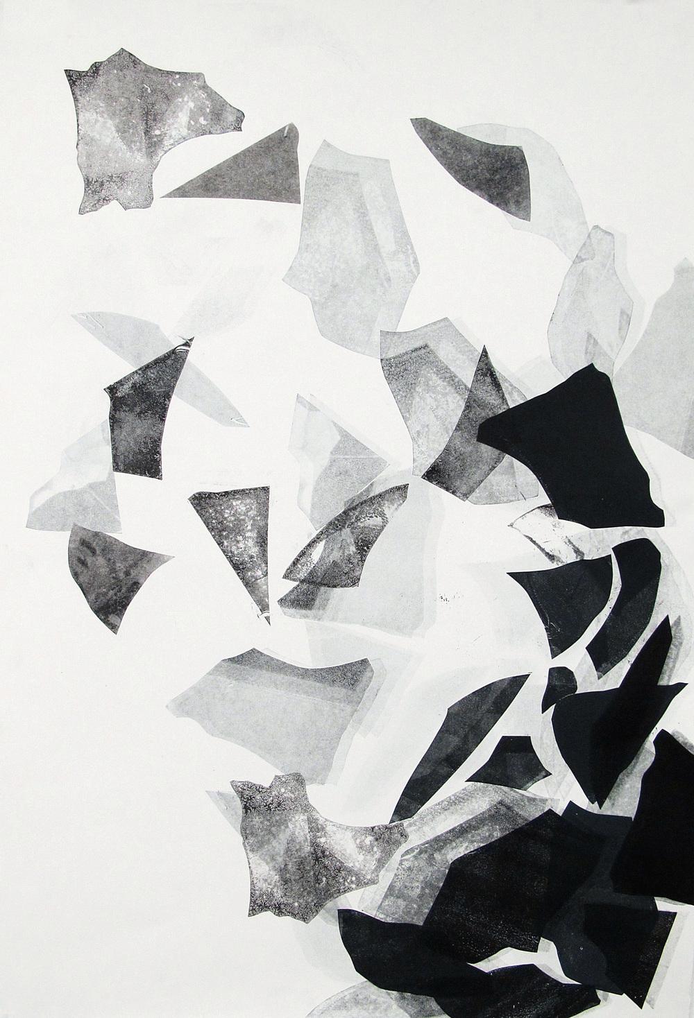 Monoprint  11x15    sold