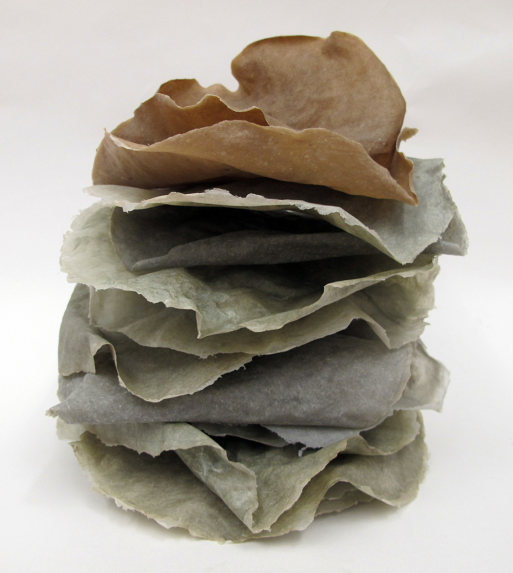 Stacked Paper Sculpture, 2014