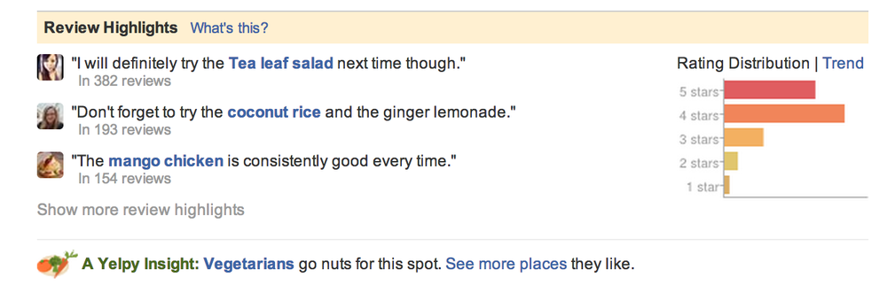 Yelp Review of Mandalay SF