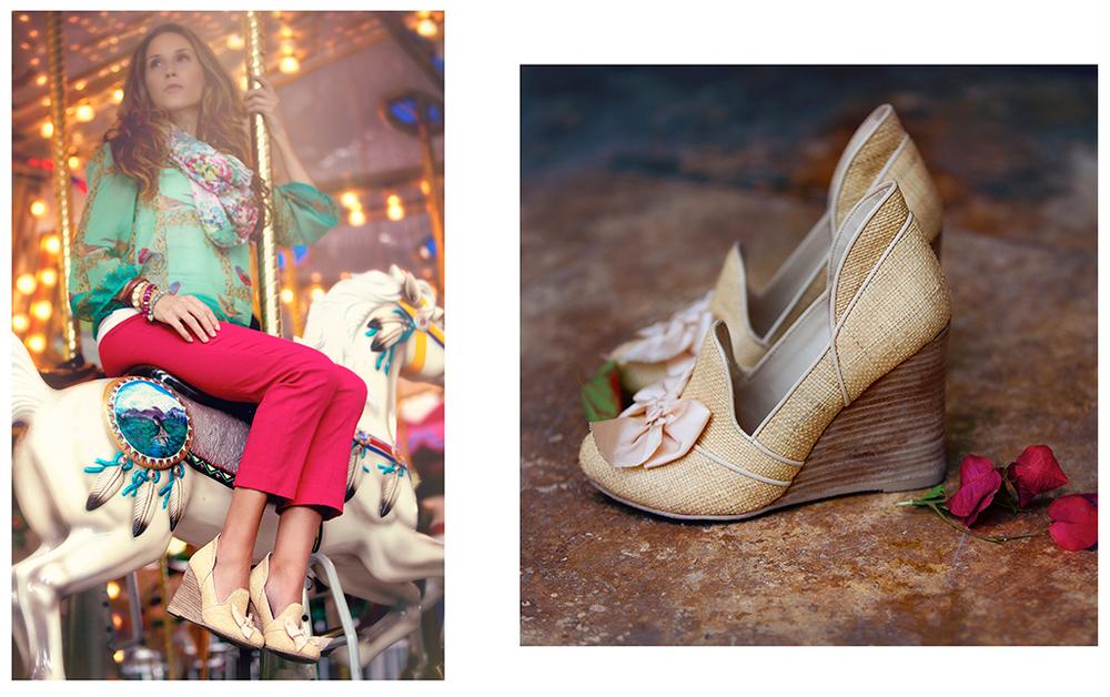 Halle Shoes - Courtesy: Joyfolie -Location: Palm Beach Zoo