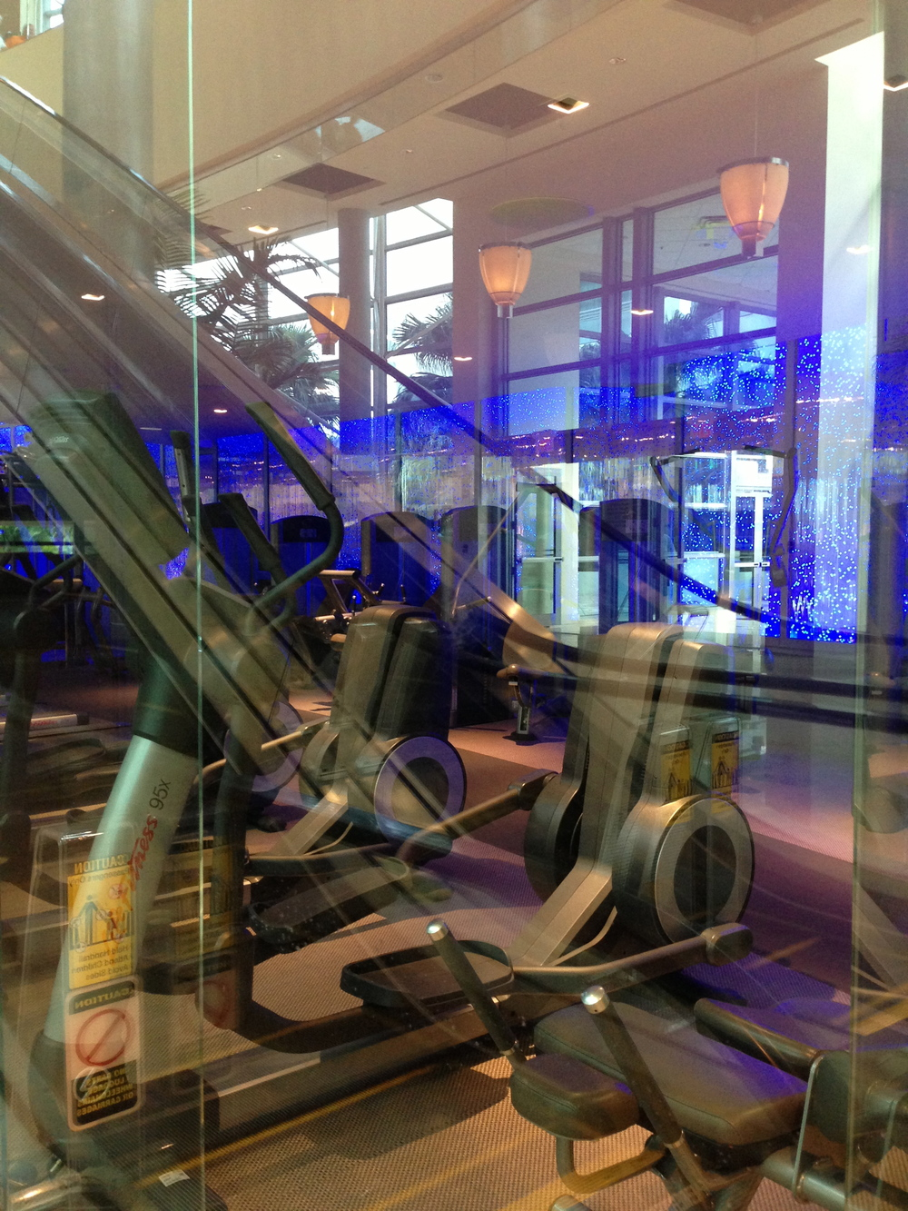 Workout facilities at Westin Diplomat in Hollywood, Florida - host of the Niche Parent 2013 Conference.
