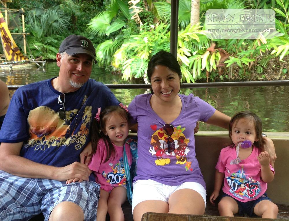 Jungle cruise ride at Disney's Magic Kingdom