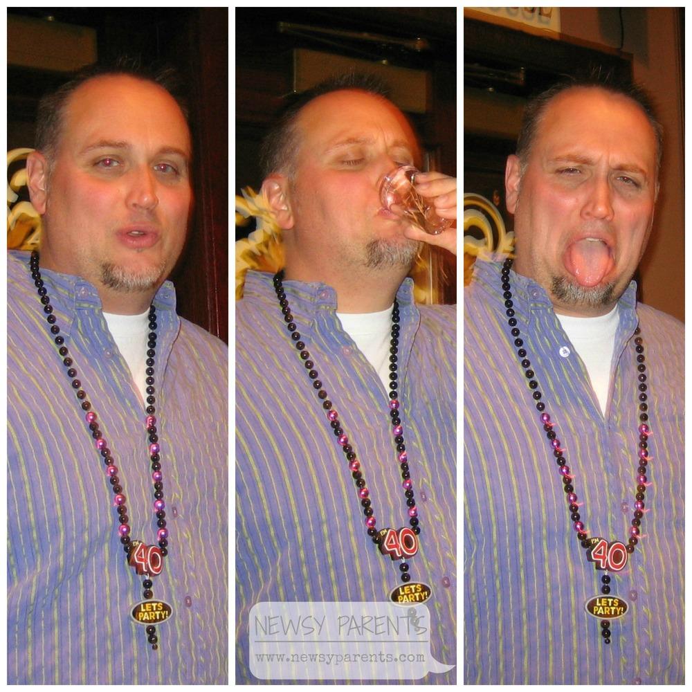 Newsy Parents Brian's 40th birthday bar stonehouse boise idaho
