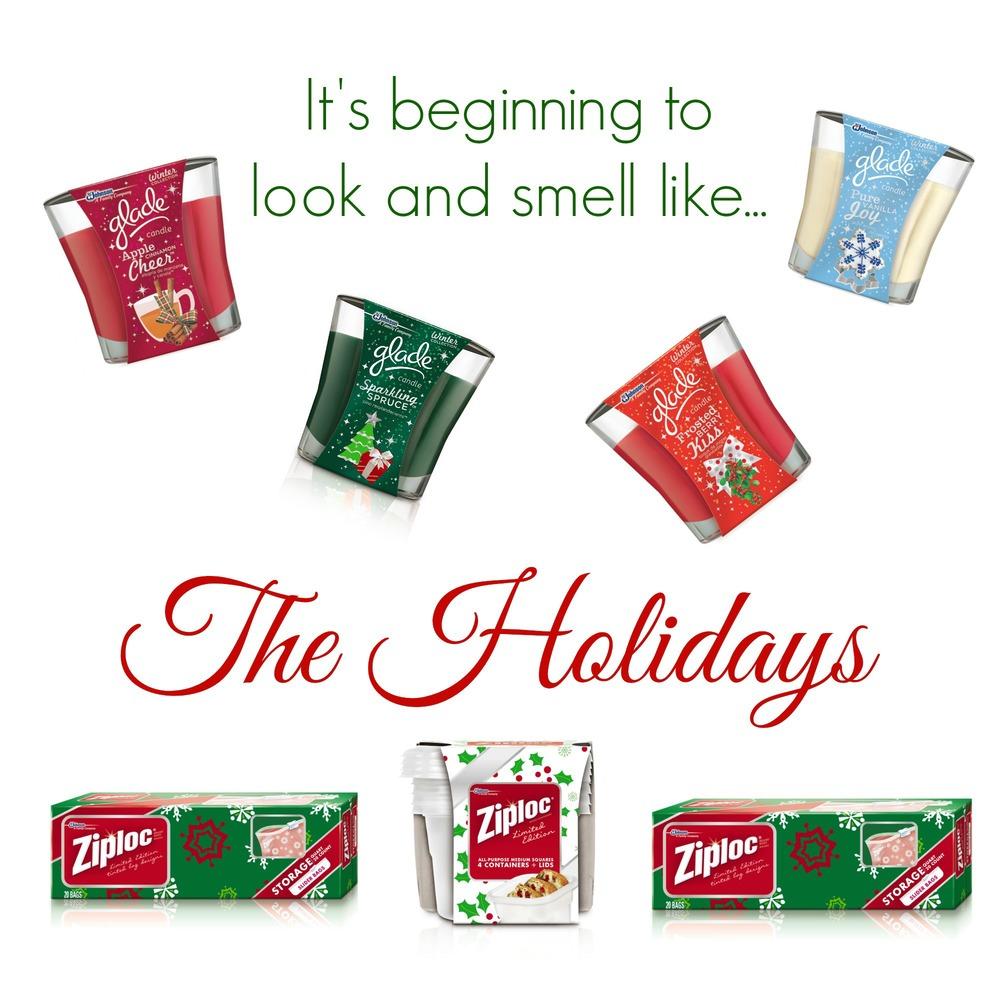 Ziploc Glade holiday collection SC Johnson
