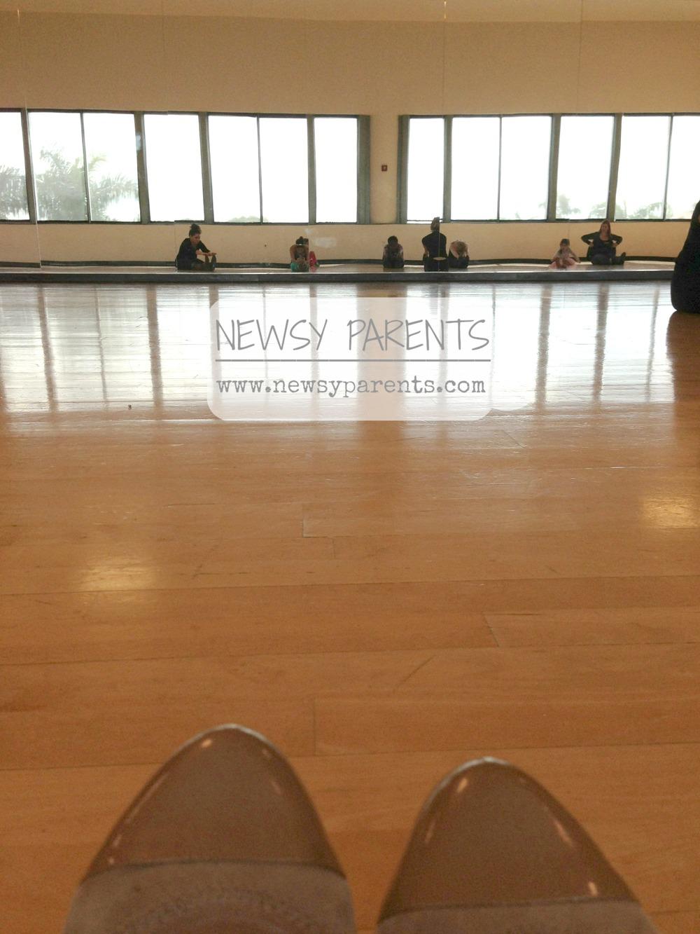 Newsy Parents Rockettes kick class shoes