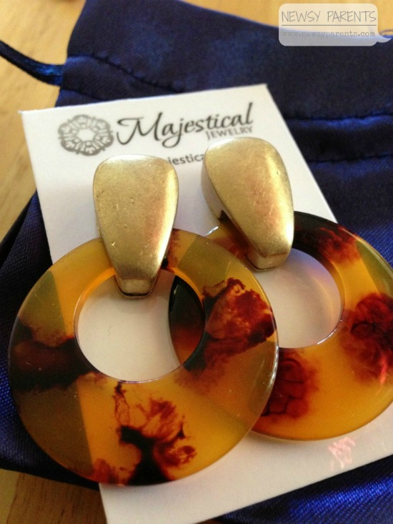 Newsy Parents Majestical Jewelry giveaway earrings review