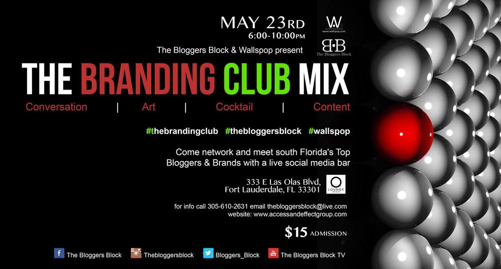 The Bloggers Block The Branding Club Mix Wallspop fashion art lifestyle beauty