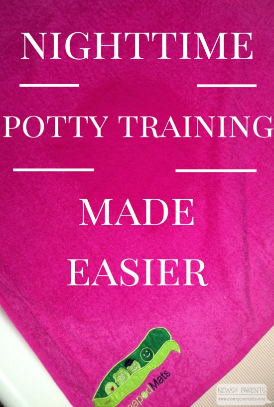 Nighttime-potty-training-bed-wetting-PeapodMats-Newsy-Parents