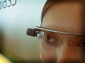 Life-logging: Devices like Google Glass make computers part of the human interface, but what are the implications of being constantly connected to the 'web of things'? (Source: Antonio Zugaldia/Flickr)