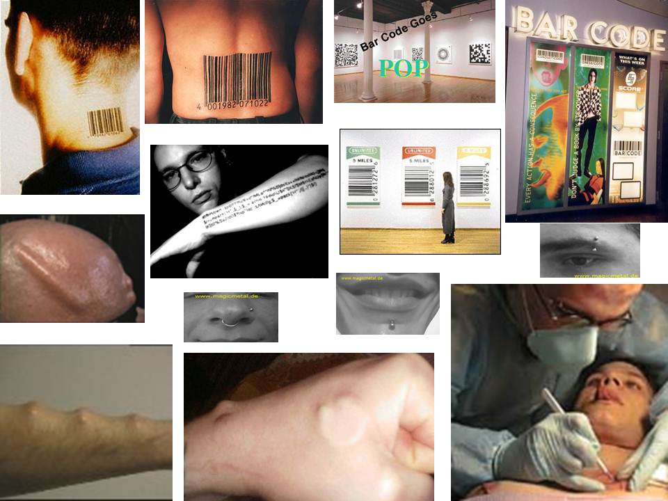 Exhibit 9.10         The New Fashion: Body Bar Code Tattoos, Piercing and Chipification