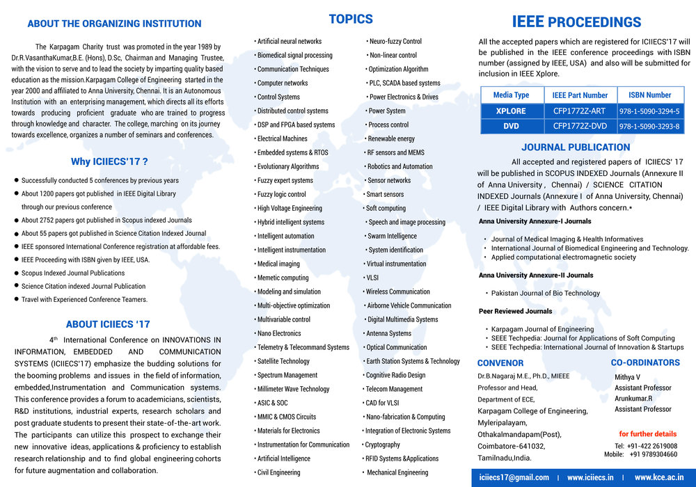 3 MCAST IICT research papers accepted for IEEE conference