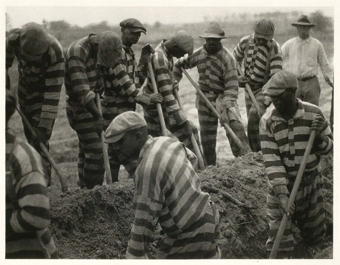Docile Bodies | Vestoj  A Chain Gang in South Carolina, c. 1929 - 1931. Doris Umann. http://vestoj.com/docile-bodies/