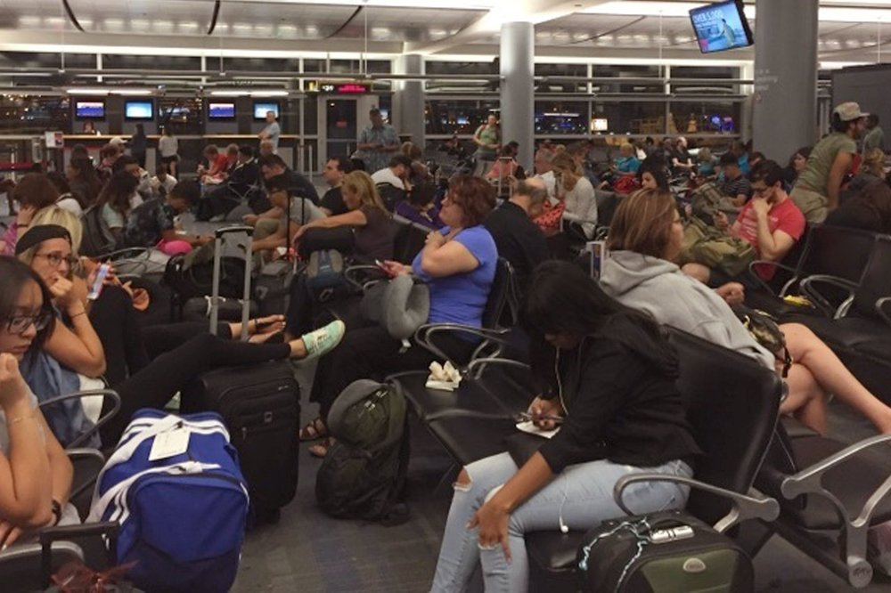 Delta Meltdown Reflects Problems, in this instance a data problem.