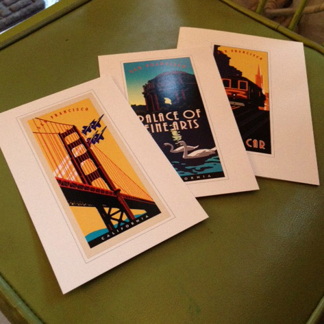San Francisco postcards!