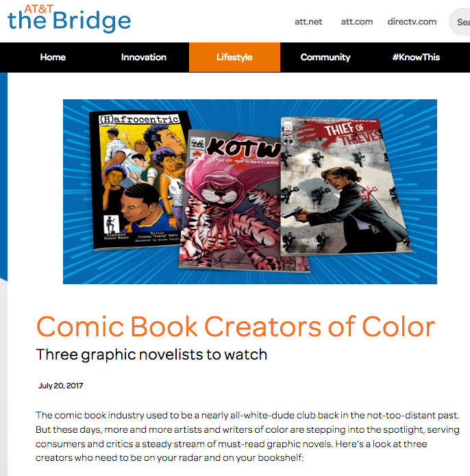 Comic Book Creators of Color