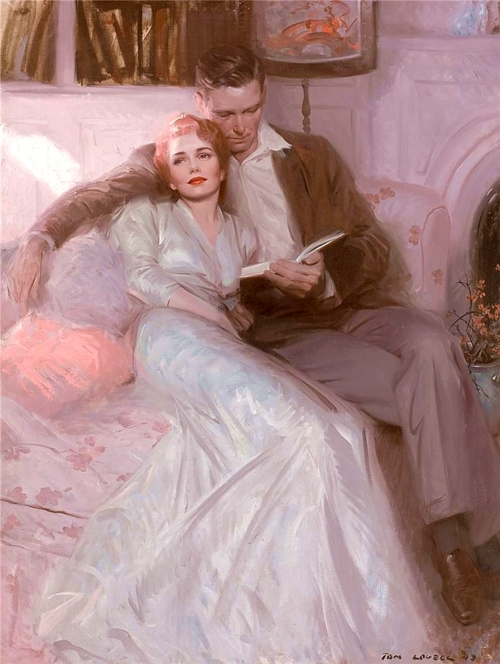 Back Comes the Bride, Tom Lovell (1944)