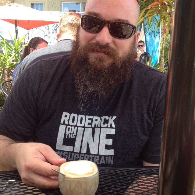 Mr. PW. plotzes over a cortadito.
