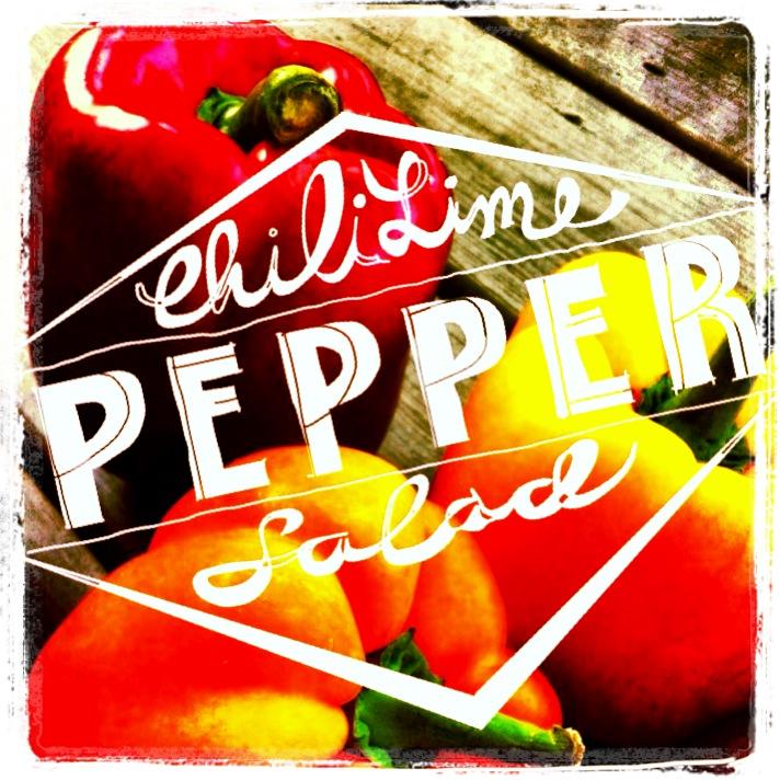 Chili Lime Pepper Salad