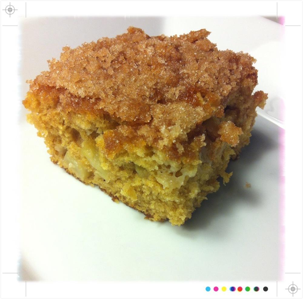 Fall Apple Cake