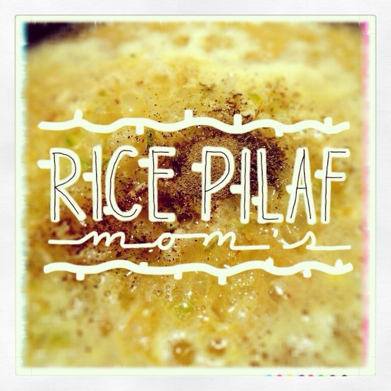 Moms Rice Pilaf