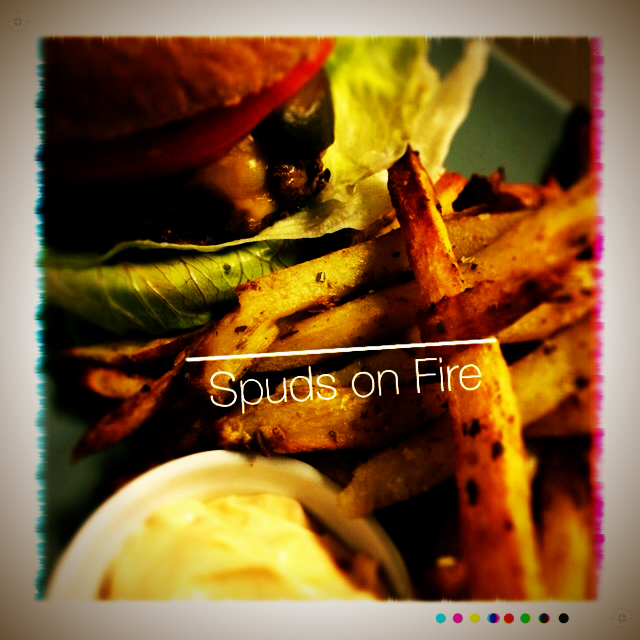 Spuds On Fire