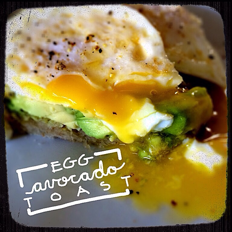 Egg & Avocado Toasts