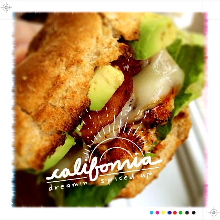 California Turkey Burger